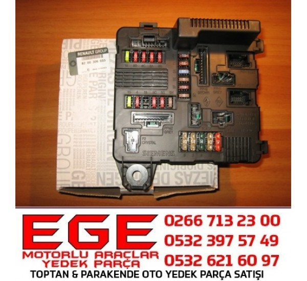 8200306033 SİGORTA KUTUSU SİGORTA SIGORTA  MOTOR İÇİ KONTROL ÜNİTESİ MGN II