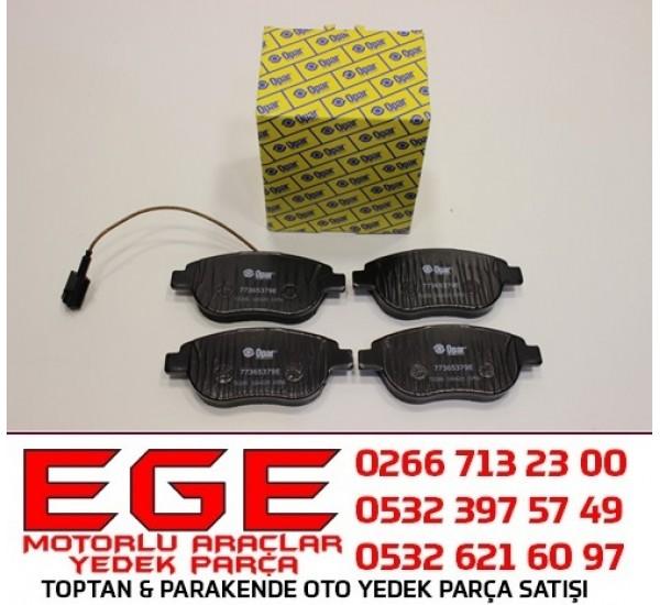 FIAT YENİ DOBLO LİNEA STİLO PUNTO ÖN FREN BALATASI ORJİNAL (OPAR) 77365379E