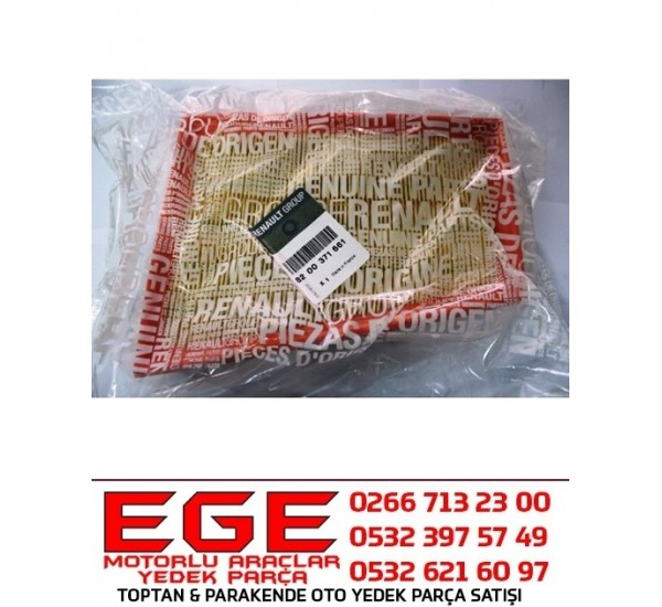 MEGANE II HAVA FİLTRESİ 8200371661