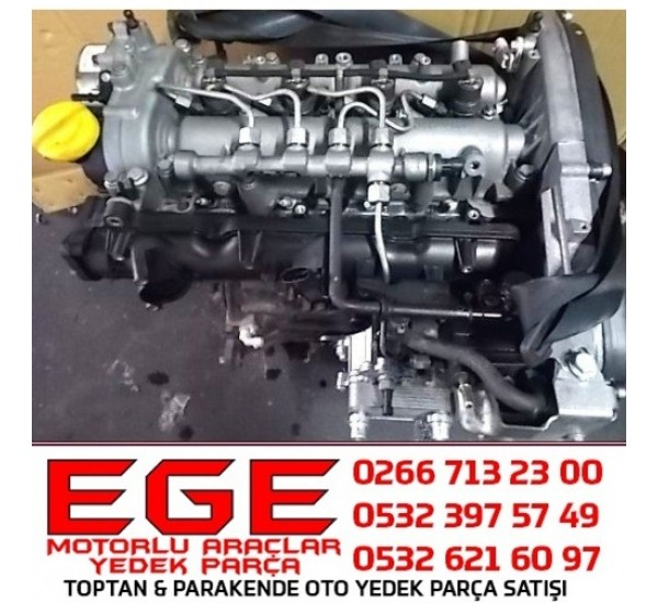 DUCATO MOTOR 2.3 JTD EURO 5 KOMPLE  SIFIR MOTOR ORJİNAL