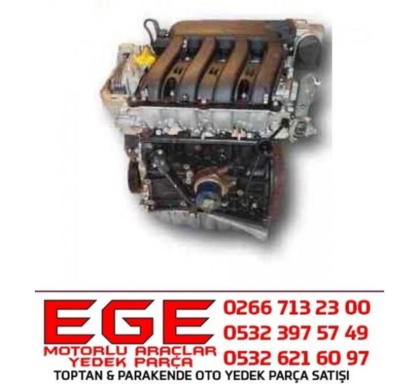 MEGANE II F4R 771 KOMPLE MOTOR SCENIC III 2.0 16V F4R 771 KOMPLE MOTOR