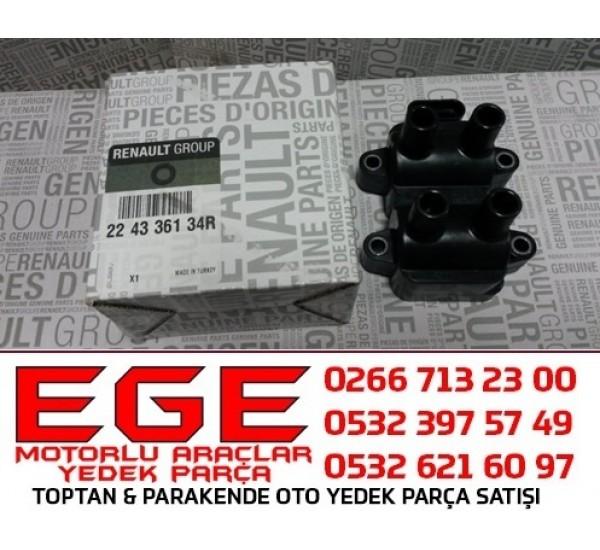 ATEŞLEME BOBİNİ CLIO KANGO R19 1.4  1.6 8V  K7J-K7M  224336134R