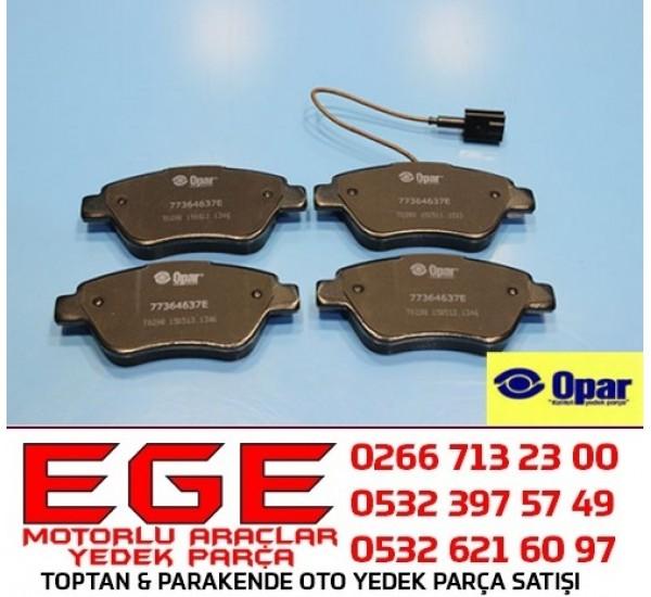 FIAT FİORİNO ÖN FREN BALATASI ORJİNAL (OPAR) 77364637E