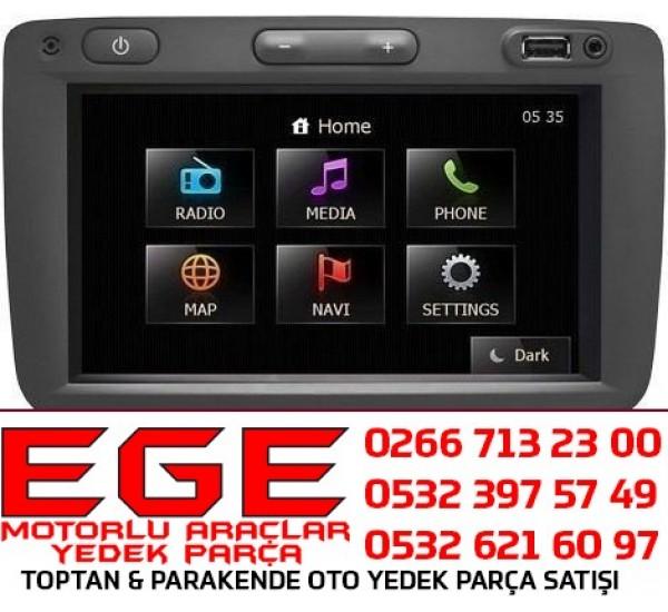 RENAULT MEDIAPLAYER NAVİGASYON RADIO MP3 ÇALAR LCD EKRAN (MAİS) 281155129