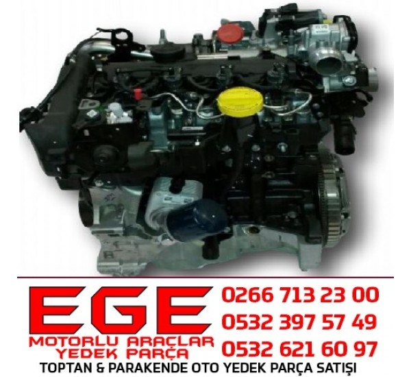 MEGANE III K9K KOMPLE MOTOR FLUENCE K9K 608 MOTOR CLIO IV MOTOR CLIO 4 K9K MOTOR