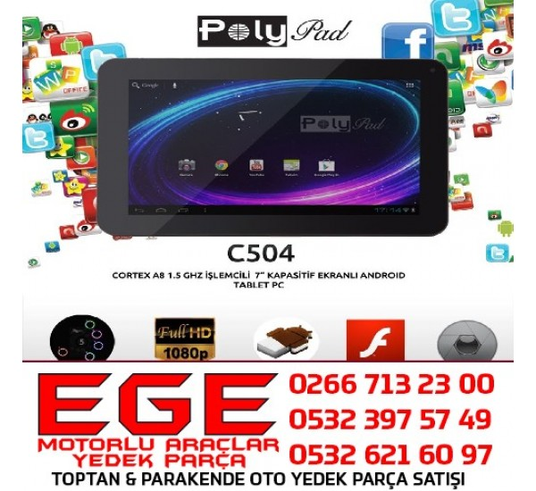 POLYPAD C504 4 GB TABLET