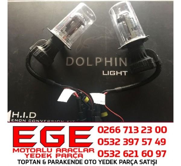DOLPHIN H4 8000K Xenon Ampul