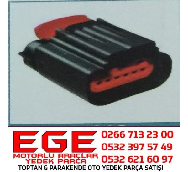 6K013 OTO SOKET Akışmetre/Debimetre Soketi  FORD 6C11-12B579-AA 7M51-12B579-BB PEUGEOT Jumper Boxer