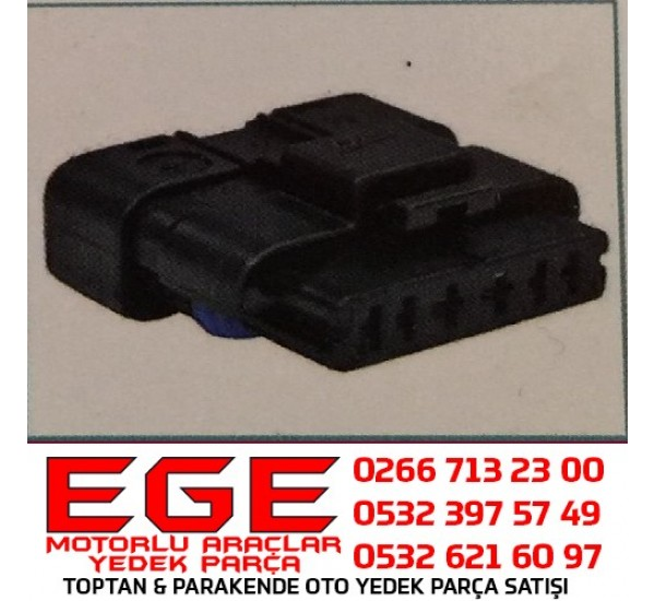 6K003 OTO SOKET Soket Akışmetre Far  RENAULT MEGANE II