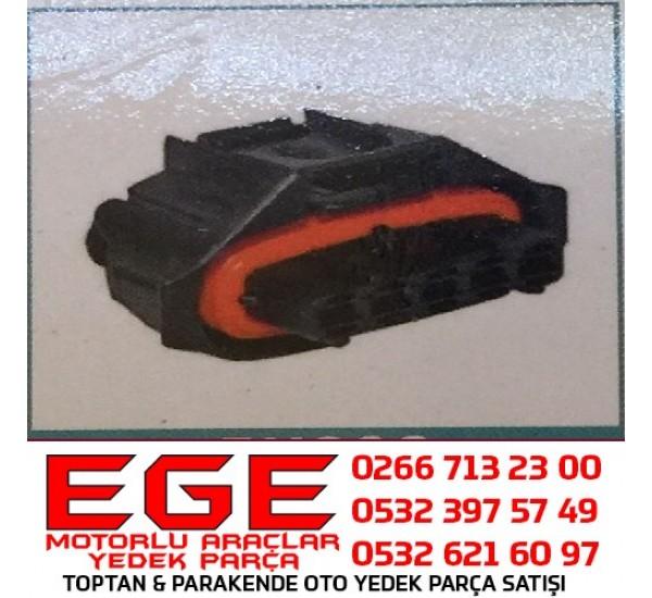 5K009 OTO SOKET Soket Bosch Tip 5 Yollu  Akışmetre/Debimetre Soketi FIAT-OPEL-HYUNDAİ-SUZUKİ