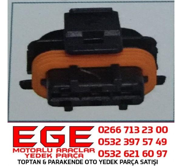 3K008 OTO SOKETLERİ Bosch Tipi 3 Yollu Soket/Bobin Soketi  ALFA ROMEO/FIAT/LANCIA