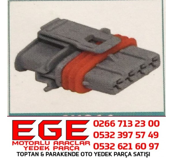 4K011 SOKETÇİM Bosch Tip 4 Yollu Soket  FIAT