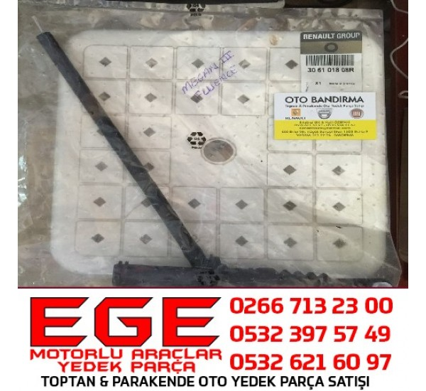 MEGANE III FLUENCE DEBRİYAJ ÜST MERKEZİ 306101808R