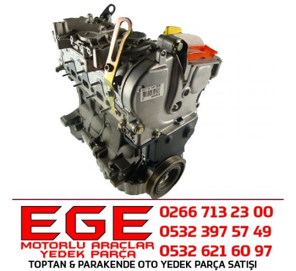 MEGANE I SCENIC 1.6 16V K4M KOMPLE MOTOR (SIFIR)